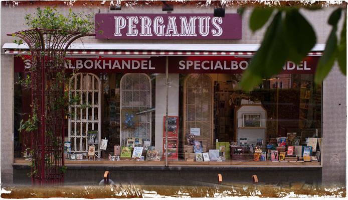 Pergamus specialbokhandel i Ängelholm